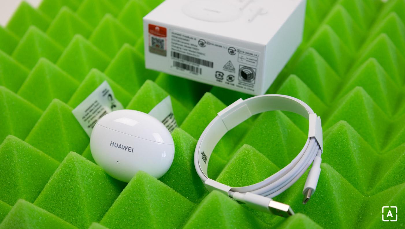 Balenie slúchadiel Huawei Freebuds 4i