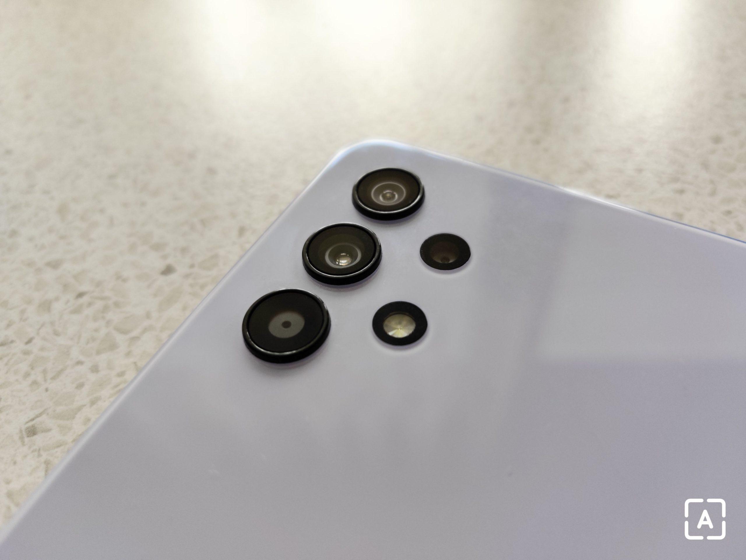 Samsung Galaxy A32 5G fotoaparáty