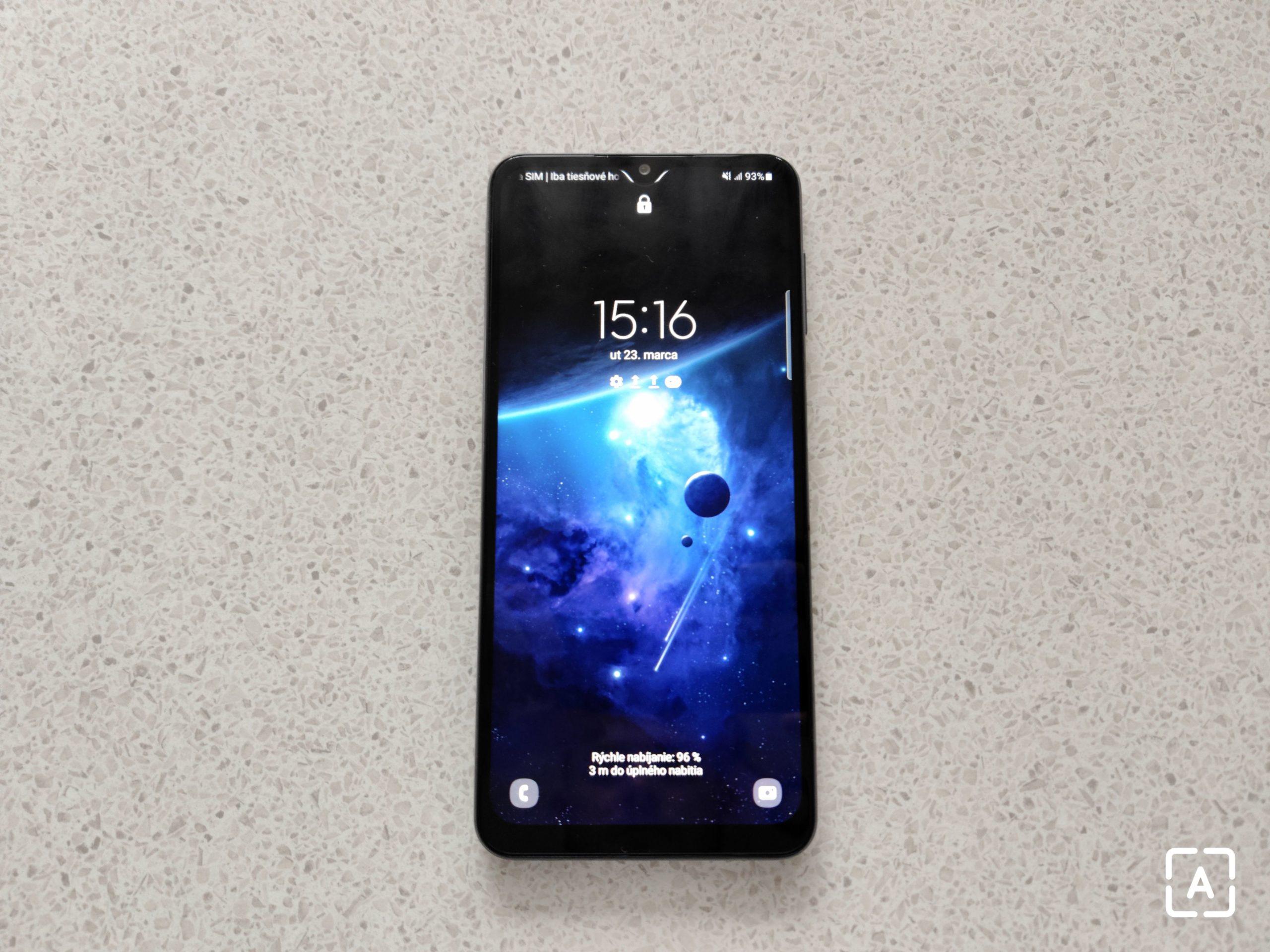 Samsung Galaxy A32 5G uzamknutá obrazovka