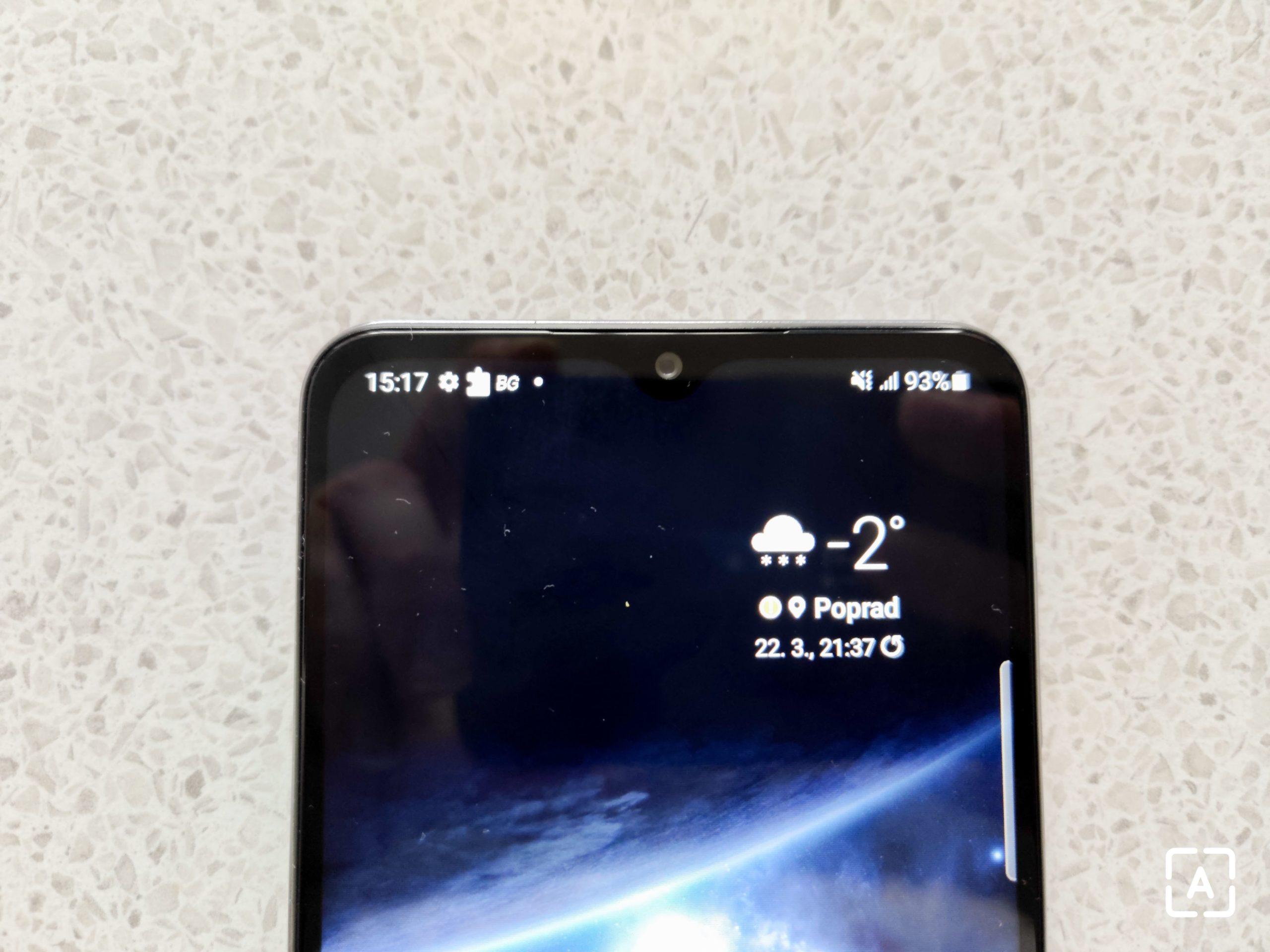 """Samsung Galaxy A32 5G """"selfie"""" snímač"""