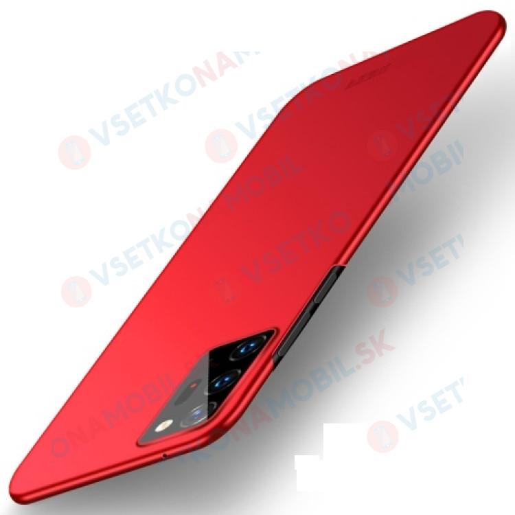 MOFI Ultratenký obal Samsung Galaxy Note 20 Ultra červený