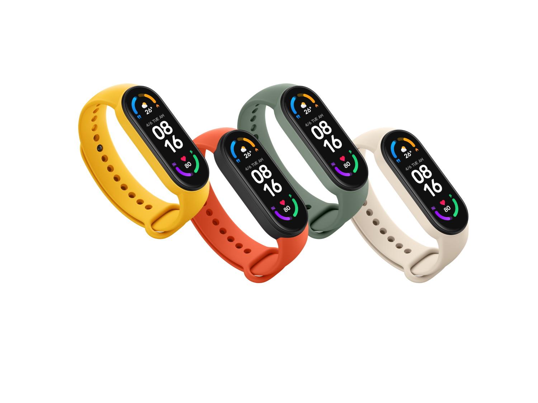 Xiaomi Mi Band 6 farby