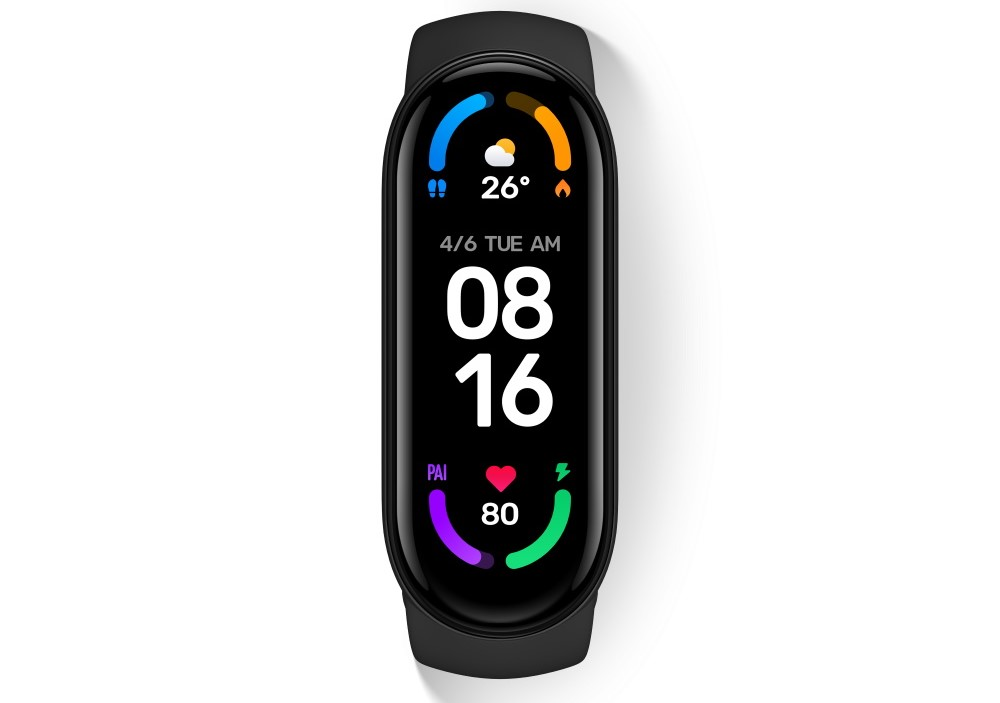 Xiaomi Mi Band 6 displej