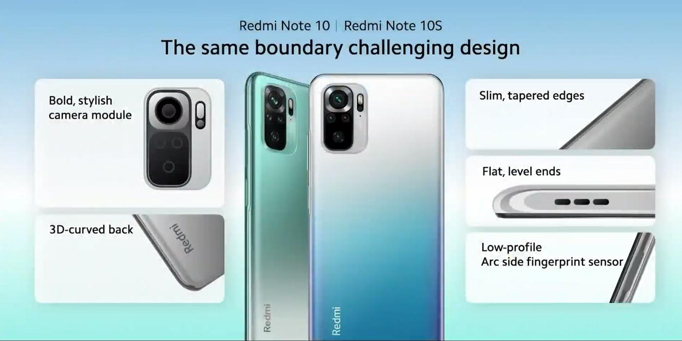 Redmi Note 10 a 10S