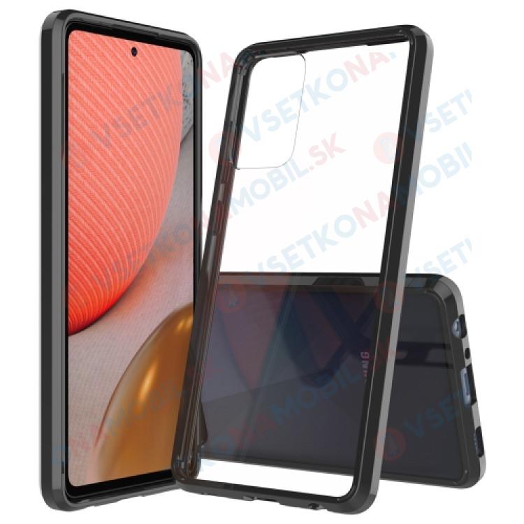 SHOCK Extra odolný kryt Samsung Galaxy A72 čierny