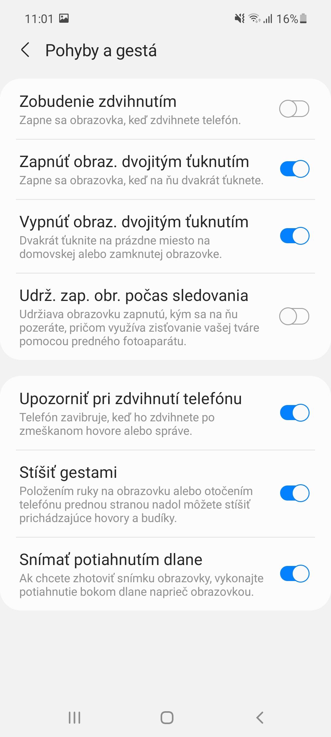 Samsung Galaxy A52 - systém