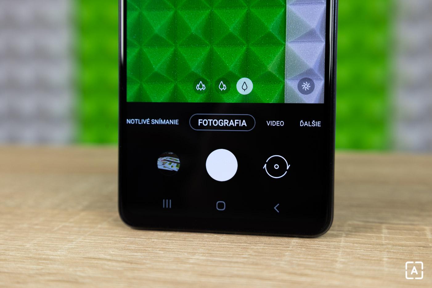 Samsung Galaxy A72 fotoaparat