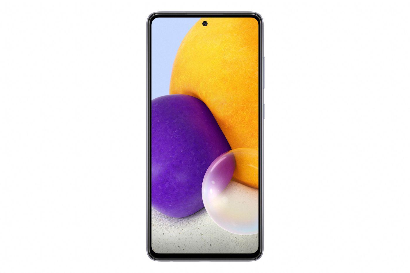 Samsung Galaxy A72 displej