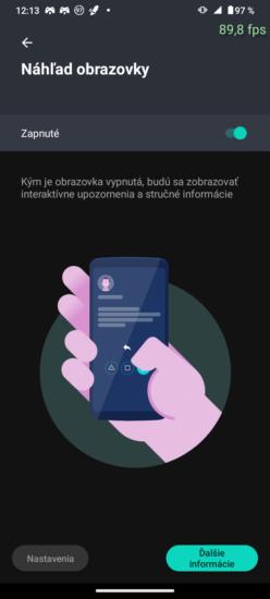 Náhľad obrazovka Moto akcie