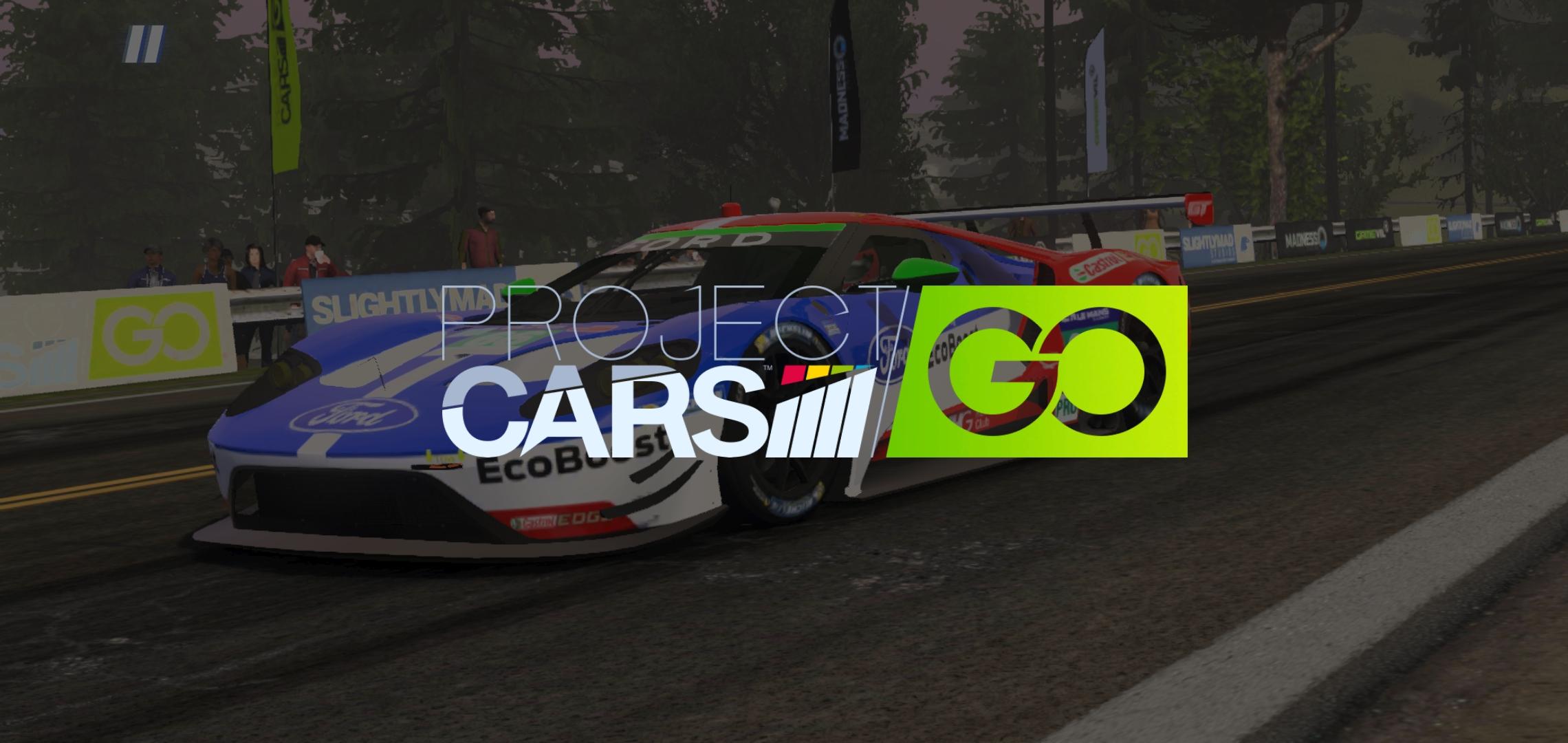 Project CARS GO titulka