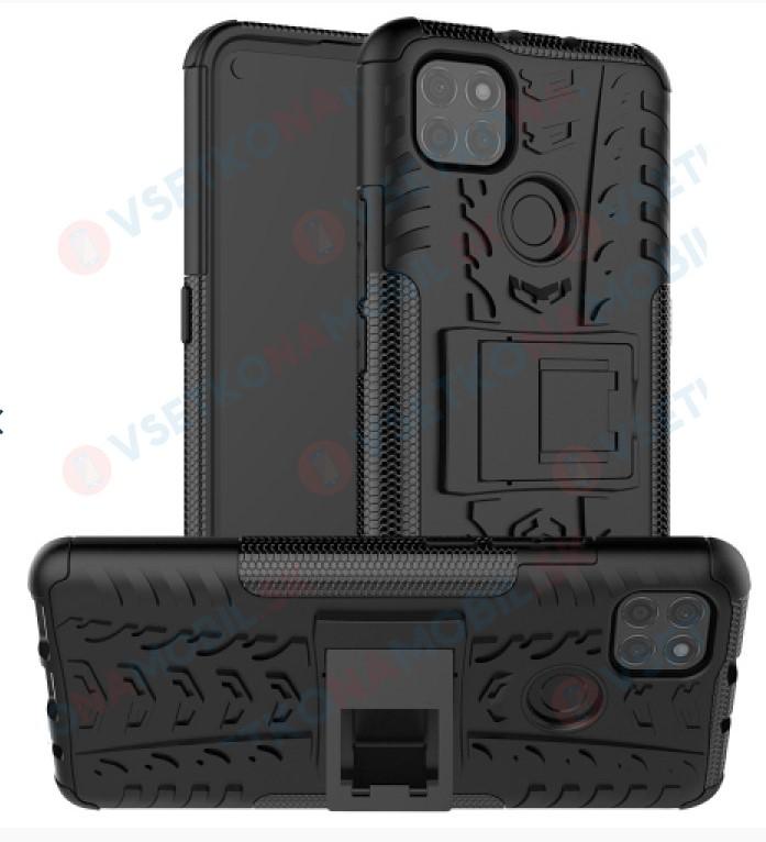 Čierny odolný kryt g9 power