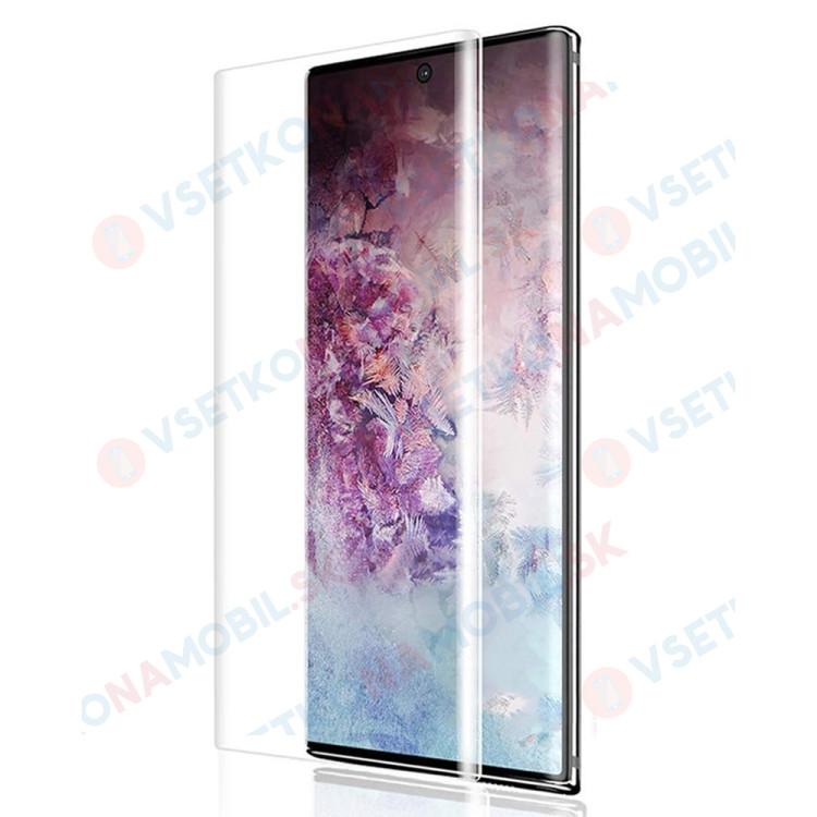 UV temperované sklo