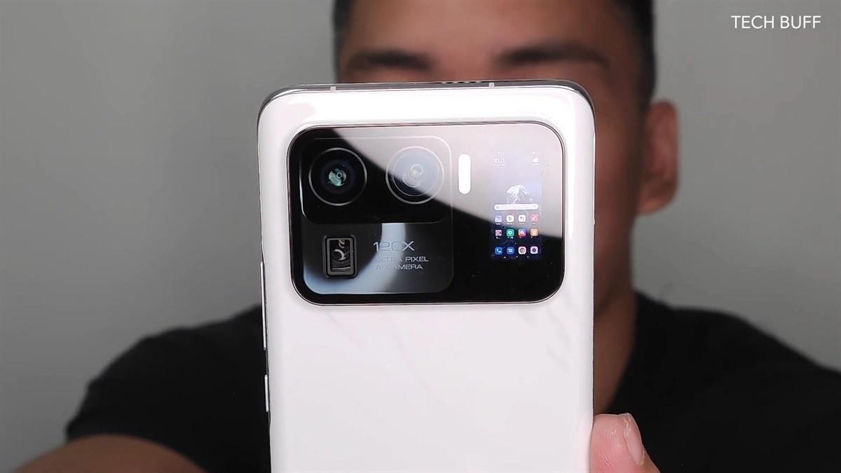 Xiaomi Mi 11 Ultra fotoaparát