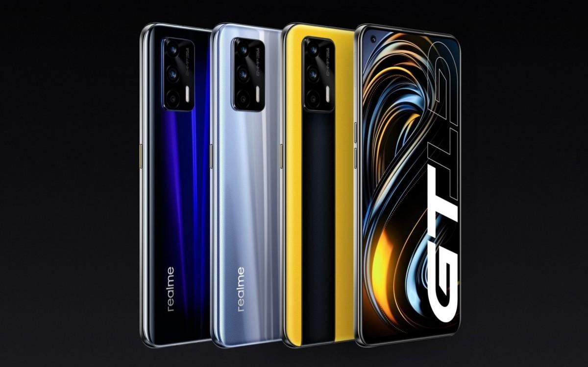 Realme GT farby