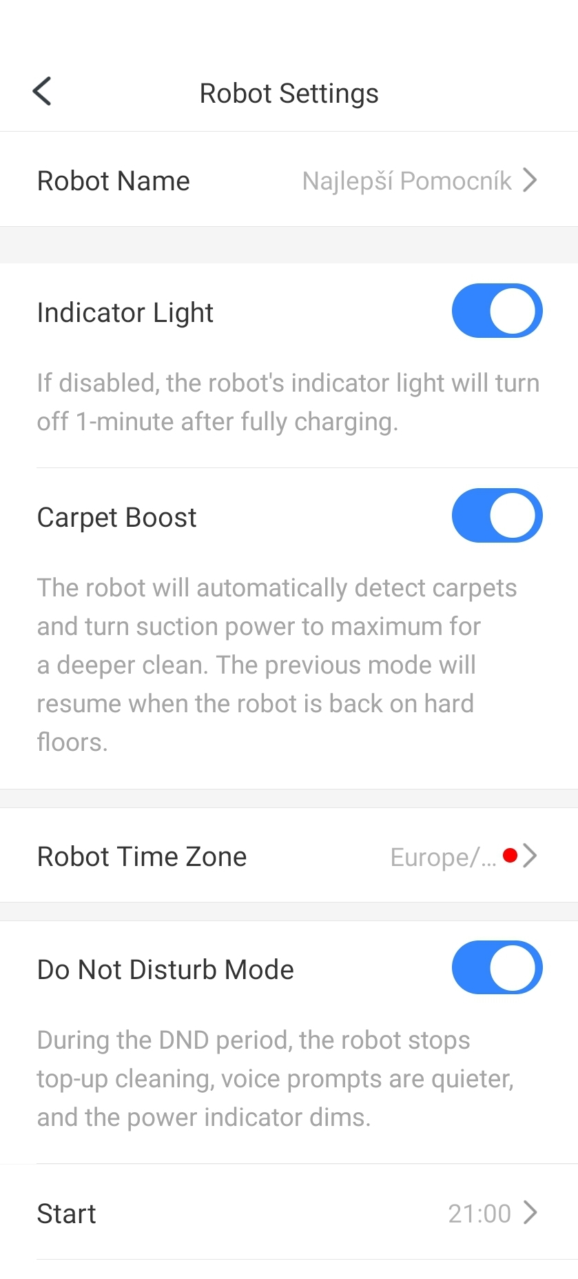 roborock screenshot