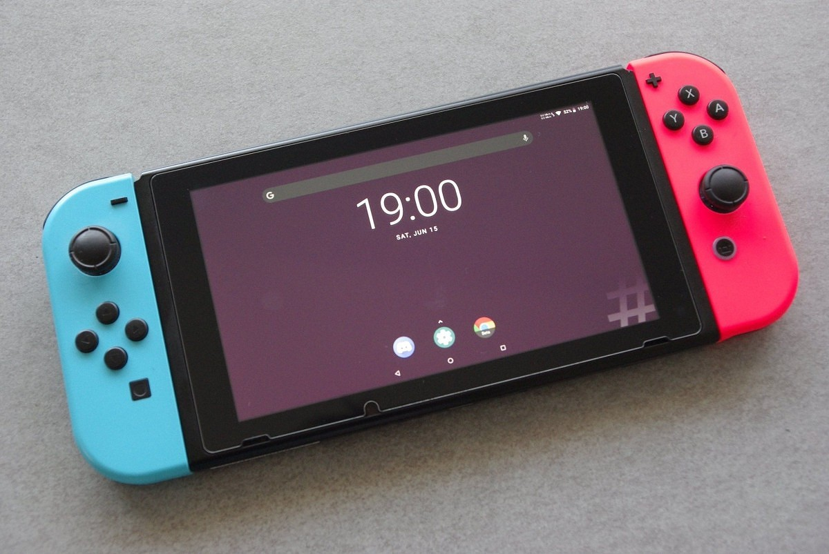 Nintendo Switch so systémom Android