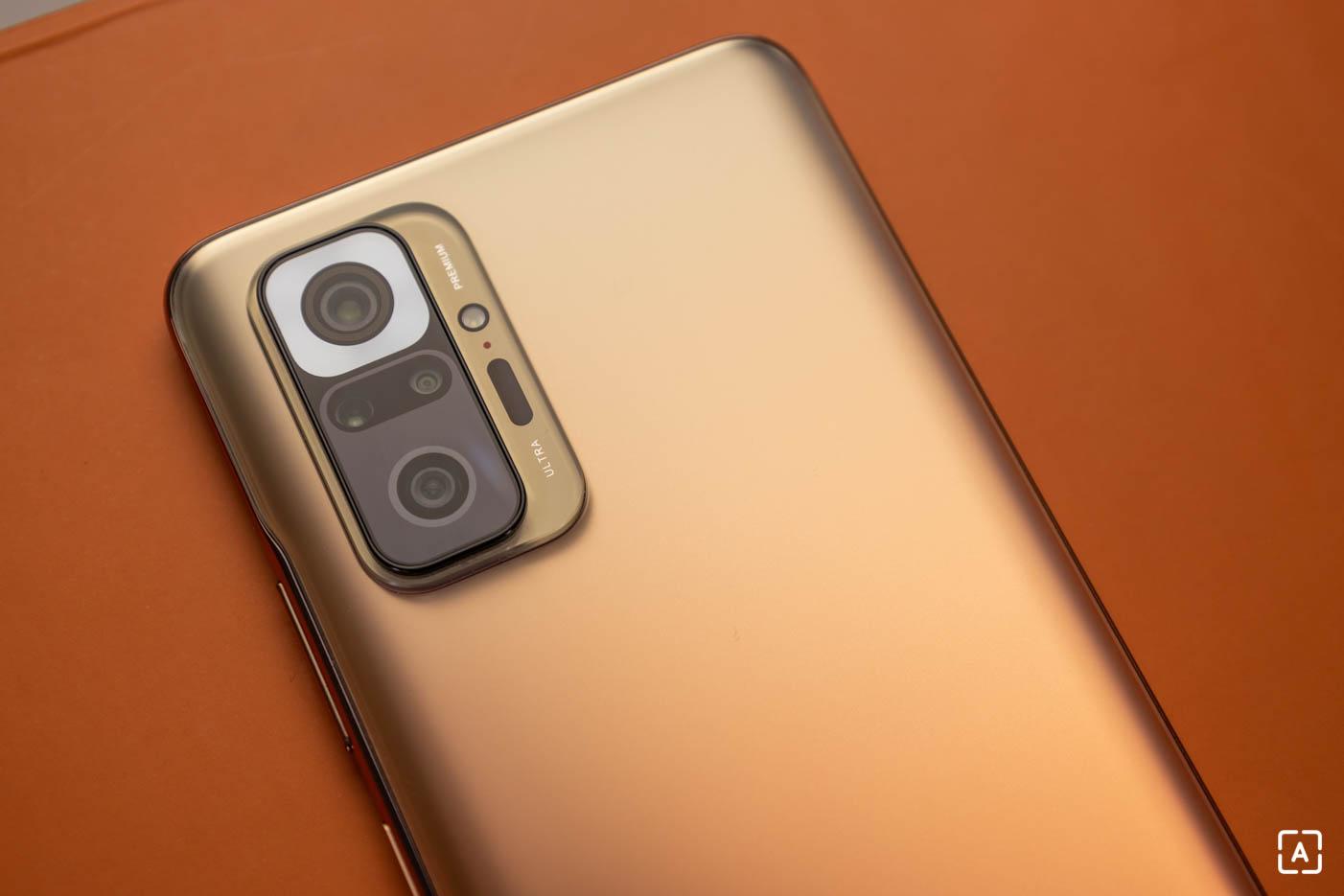 Redmi Note 10 Pro fotoaparat