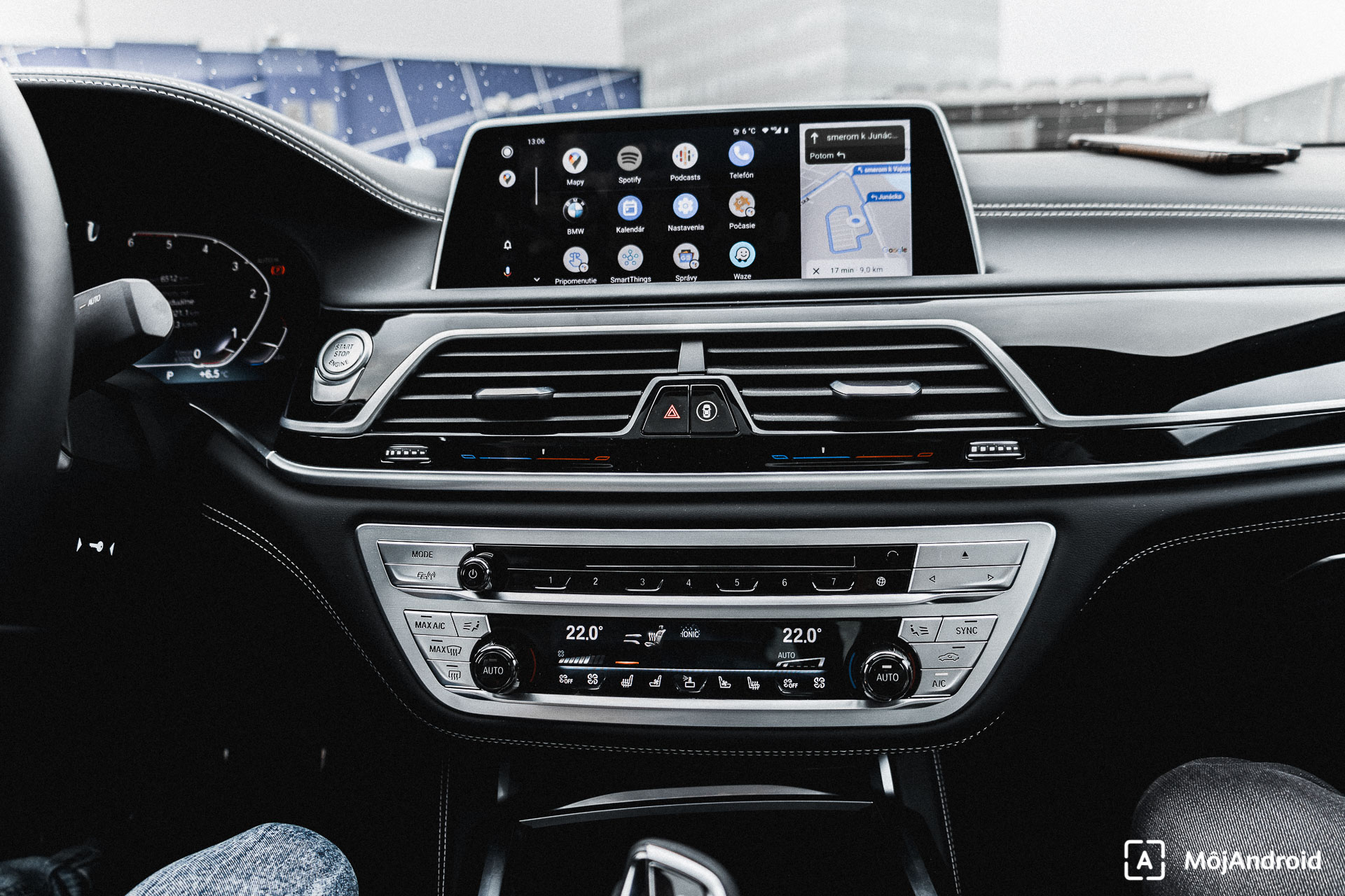 BMW 740 Android Auto
