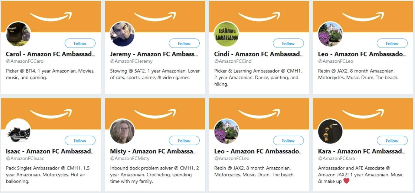 Amazon falošné účty