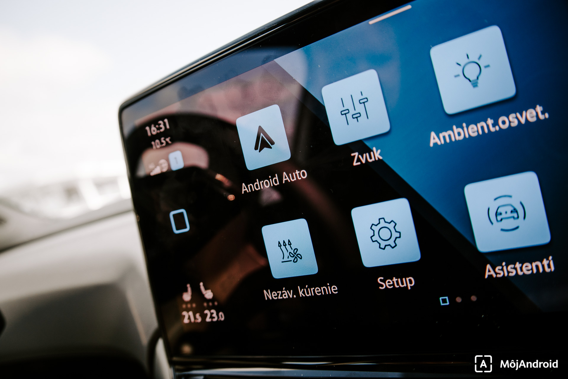 VW ID.4 Android Auto
