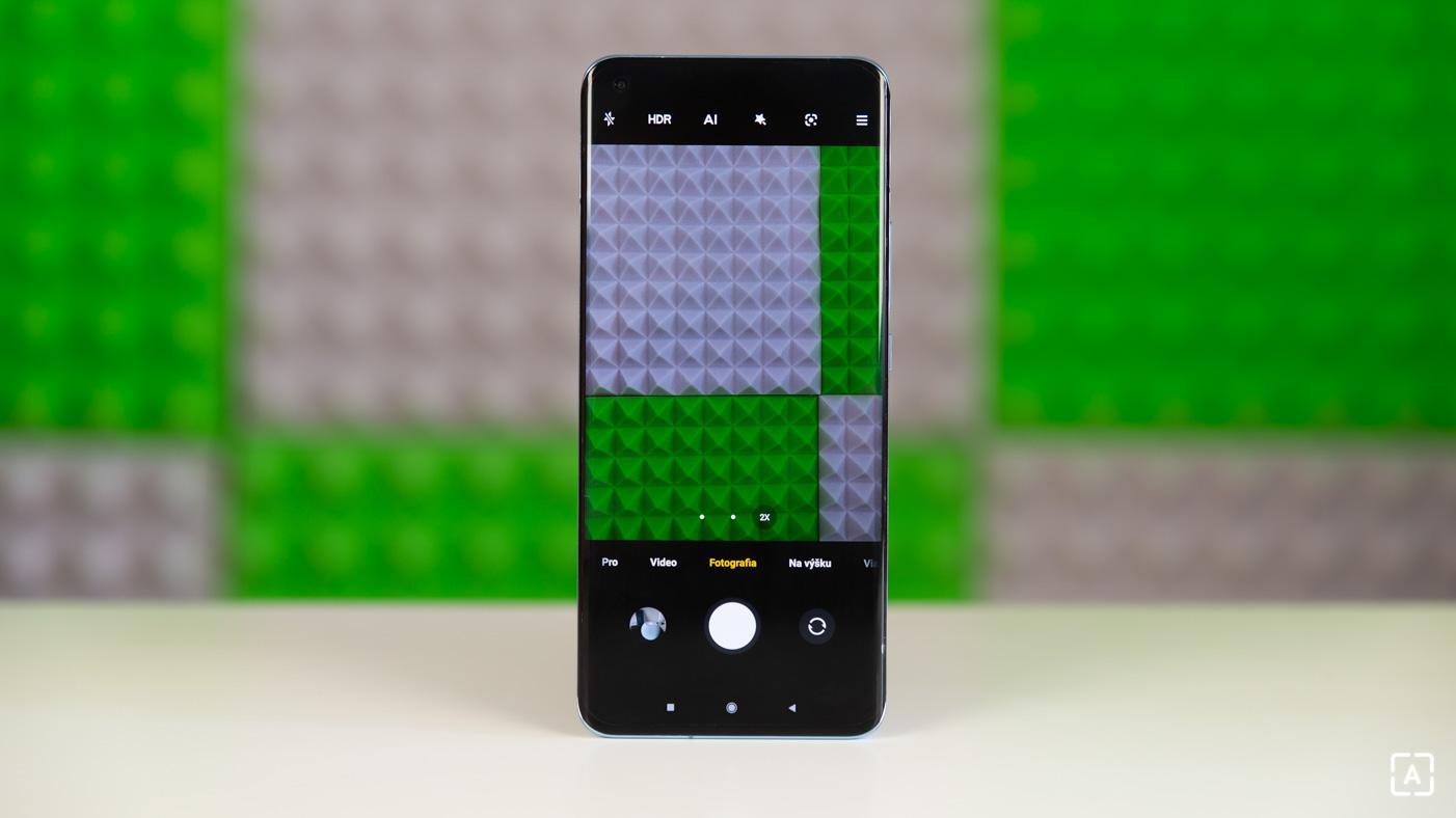 Xiaomi Mi 11 fotografovanie