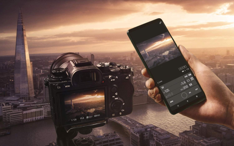 Sony Xperia 1 fotoaparát
