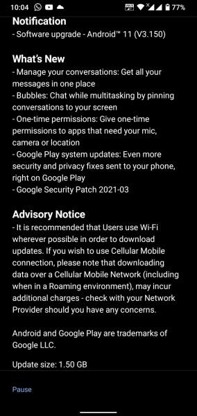 Nokia 4.2 aktualizácia na Android 11