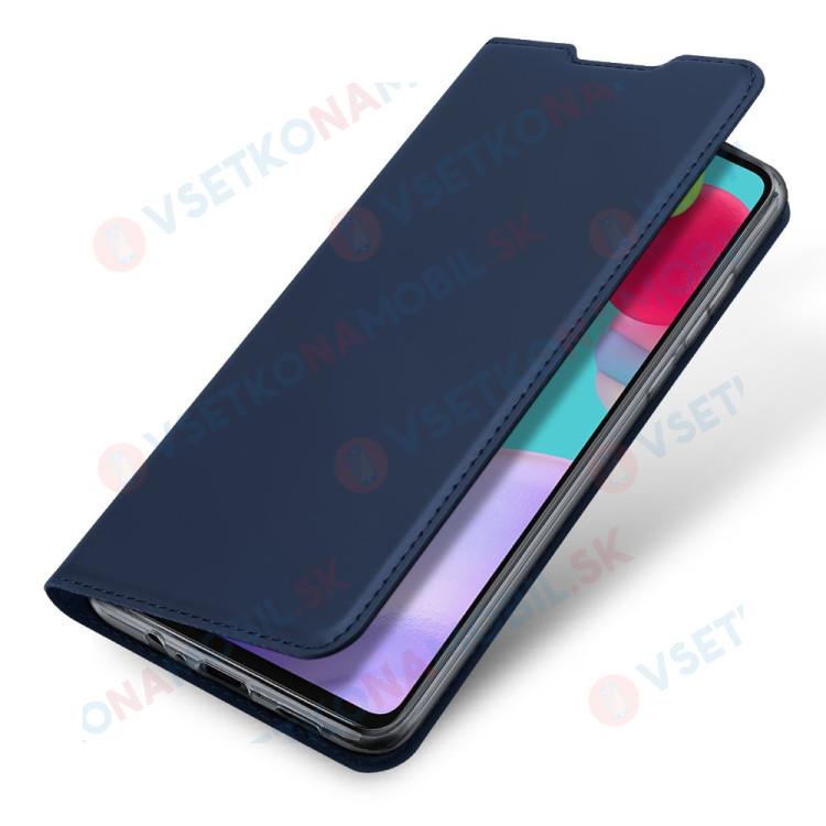 DUX Peňaženkový kryt Samsung Galaxy A52 5G modrý
