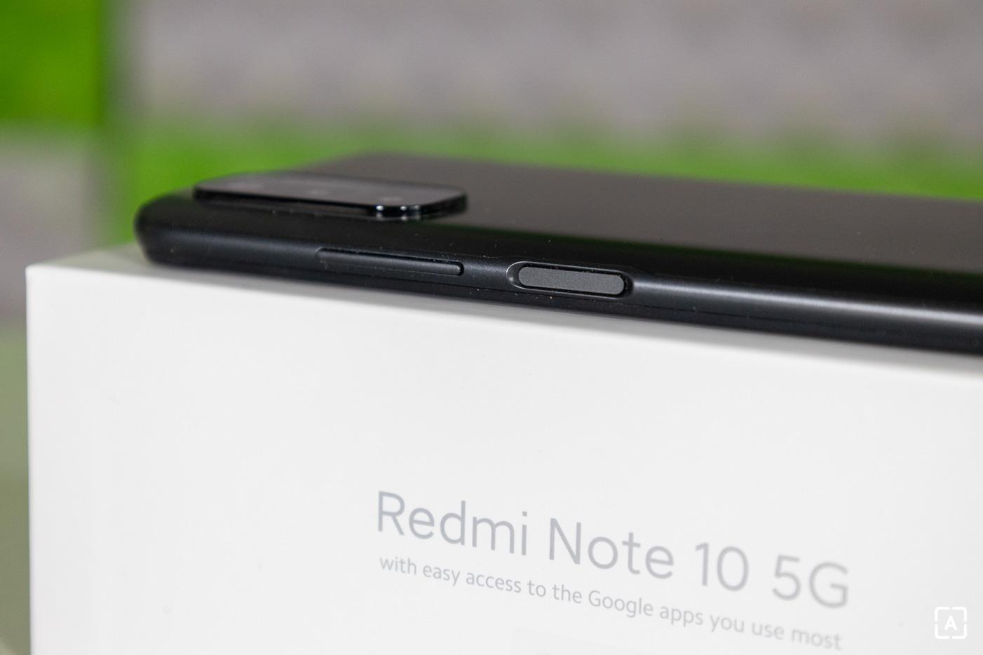 Redmi Note 10 5G pravá starna