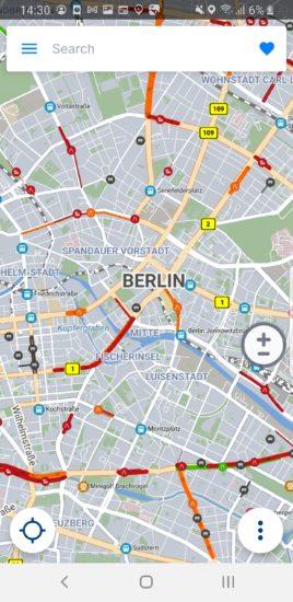 Sygic mapa Berlín nová
