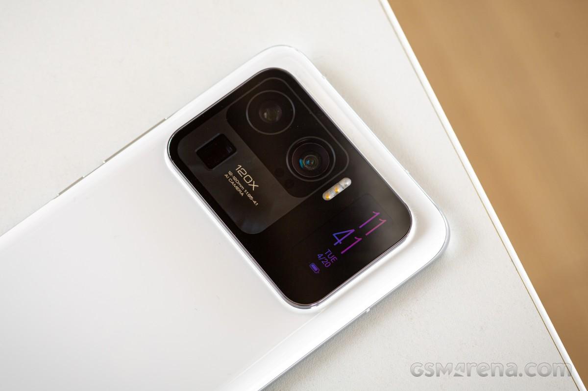 Xiaomi Mi 11 ultra - zadný fotoaparát