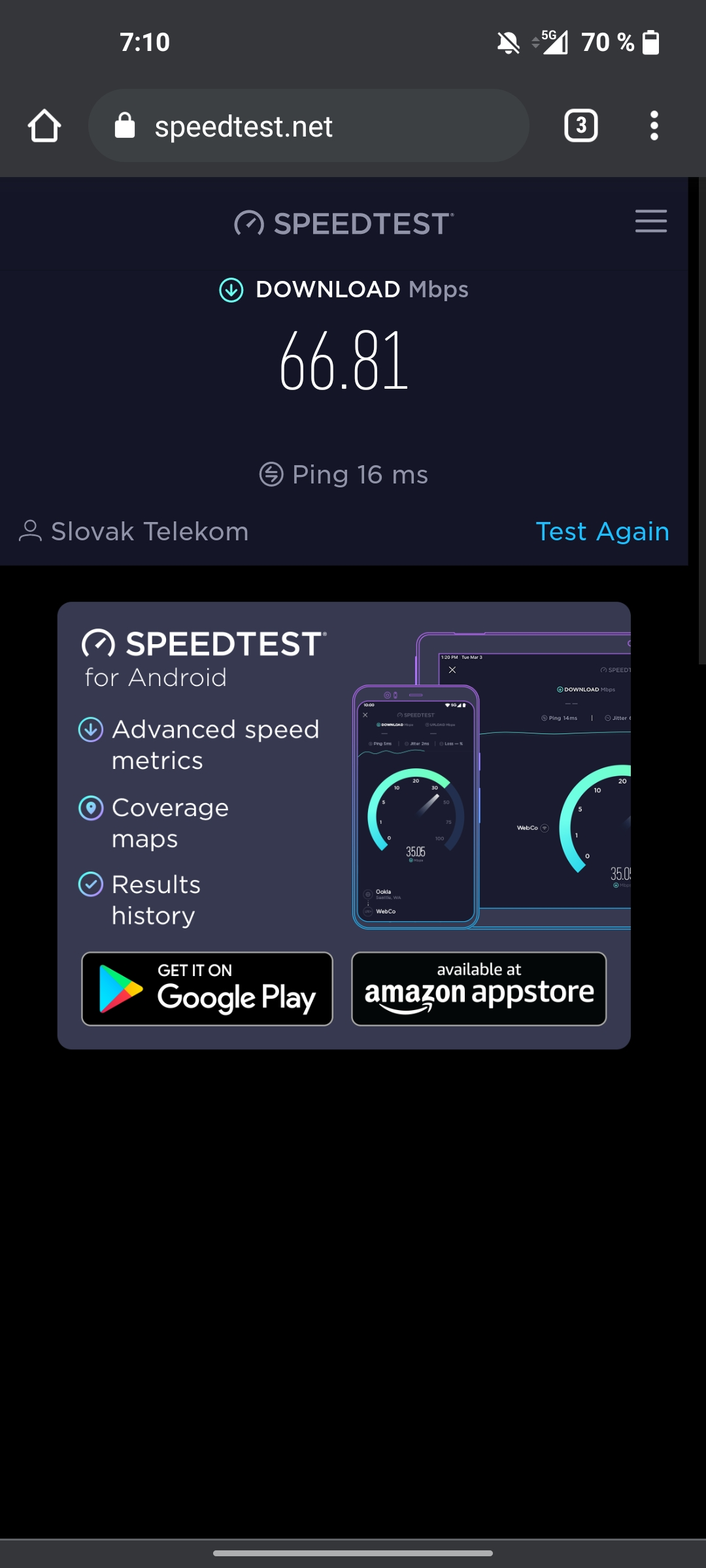 OnePlus Nord CE 5G test 5G