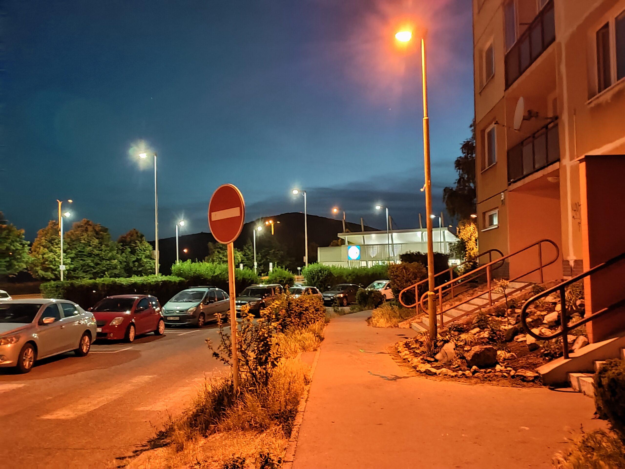 OnePlus Nord CE nočný režim