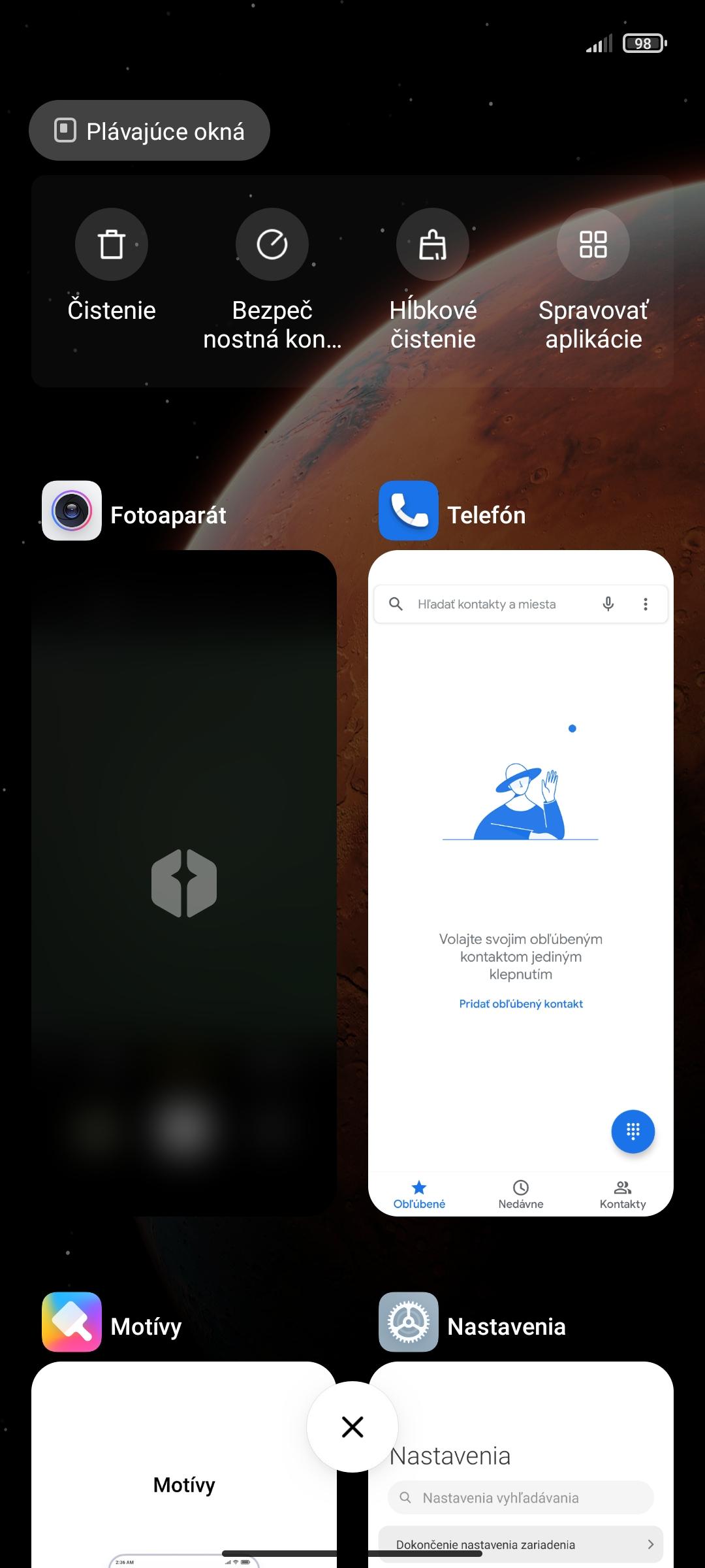 Redmi Note 10 5G - MIUI 12 multitasking