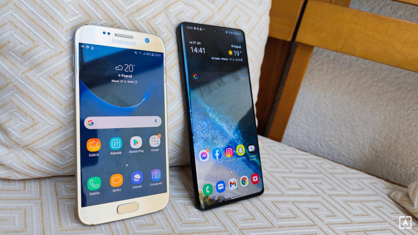 Galaxy S7 v roku 2021