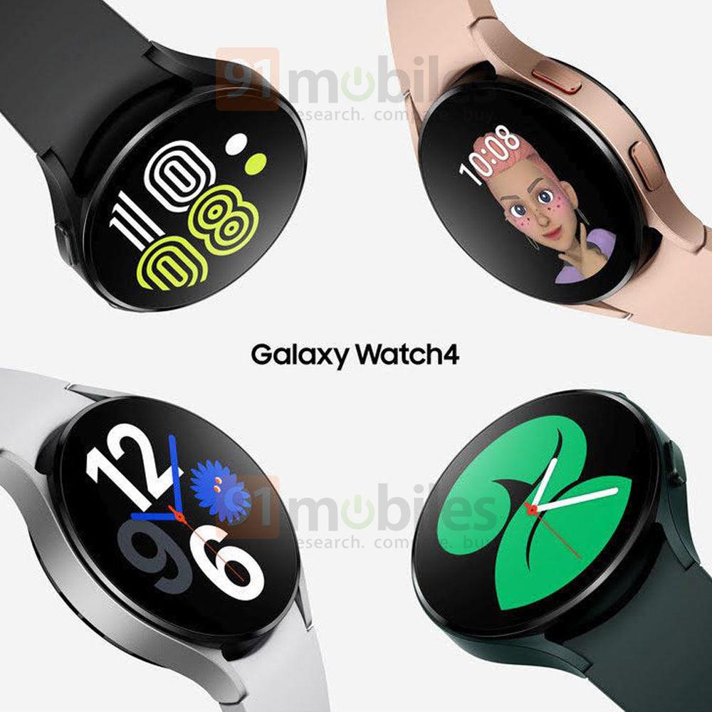 Samsung Galaxy Watch 4 únik