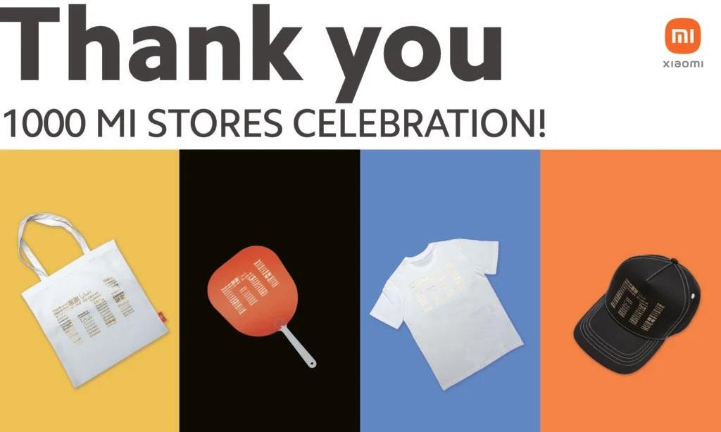 Xiaomi 1000 shops gifts