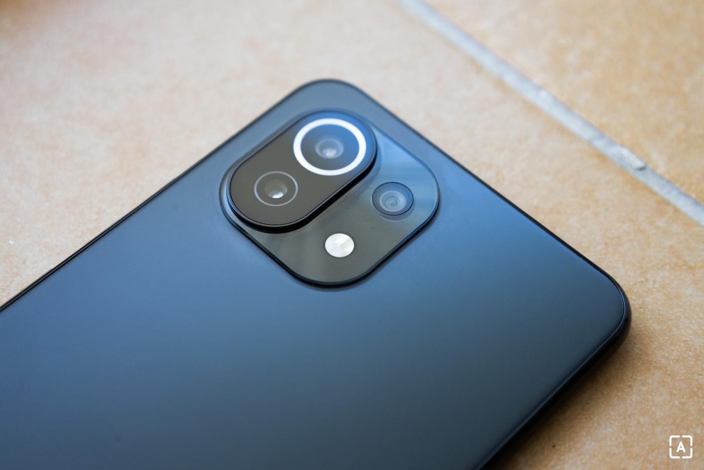 Xiaomi Mi 11 Lite 5G fotoaparat