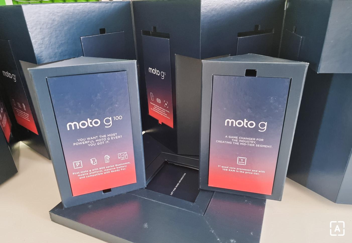 Motorola moto g rodinka