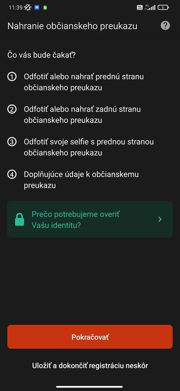 Overenie totožnosti cez HoppyGo