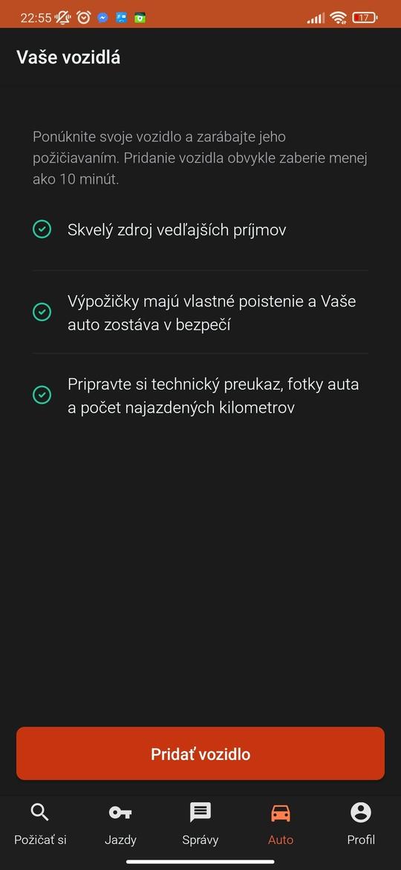Požičajte svoje vozidlo cez aplikáciu HoppyGo