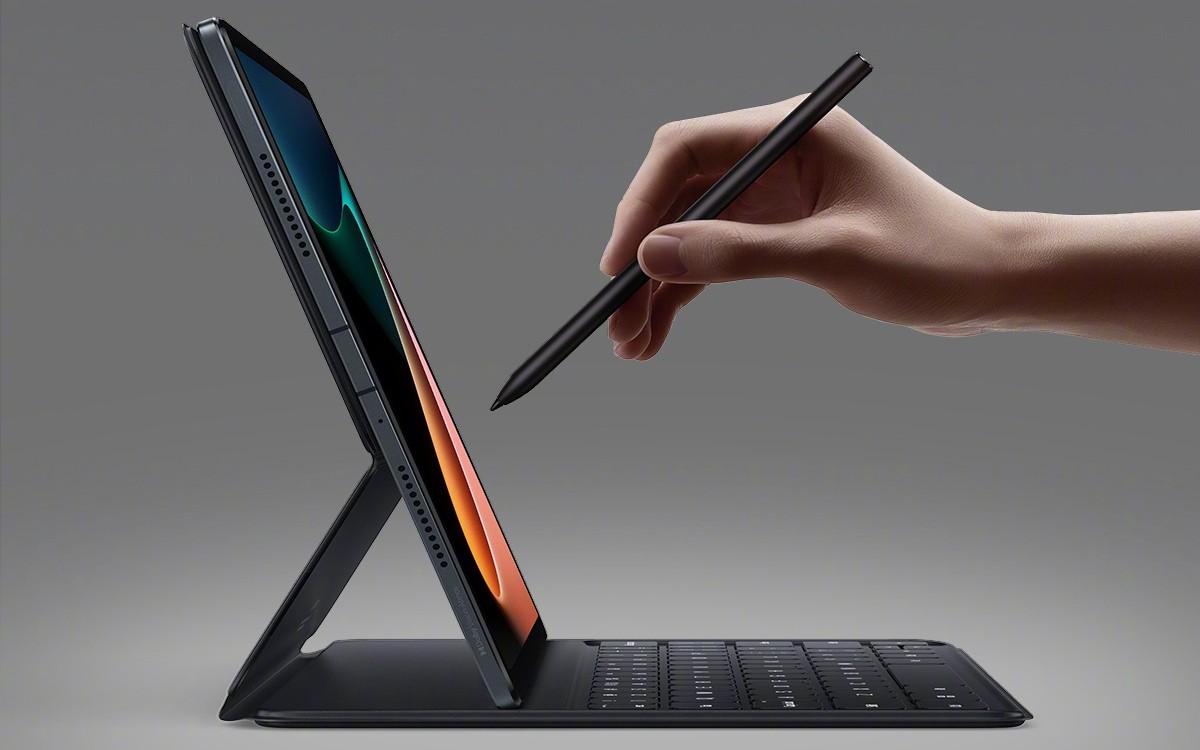 Xiaomi Mi Pad 5 keyboard and stylus