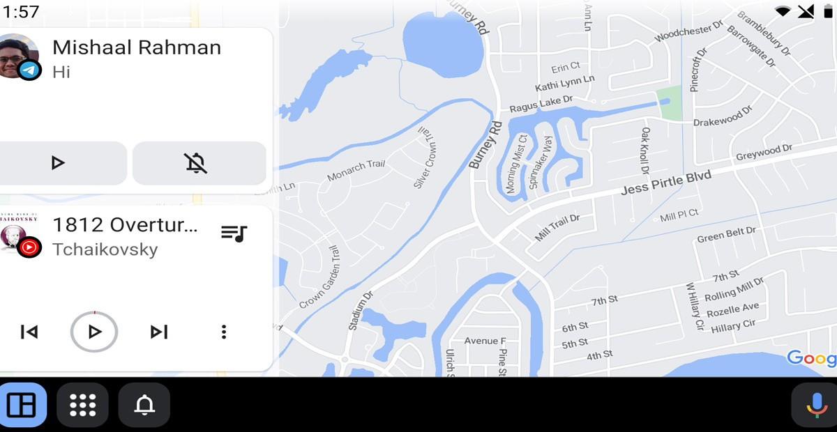 Android Auto beta 6.9 nové rozhranie