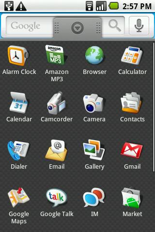 Android 1.6 aplikácie