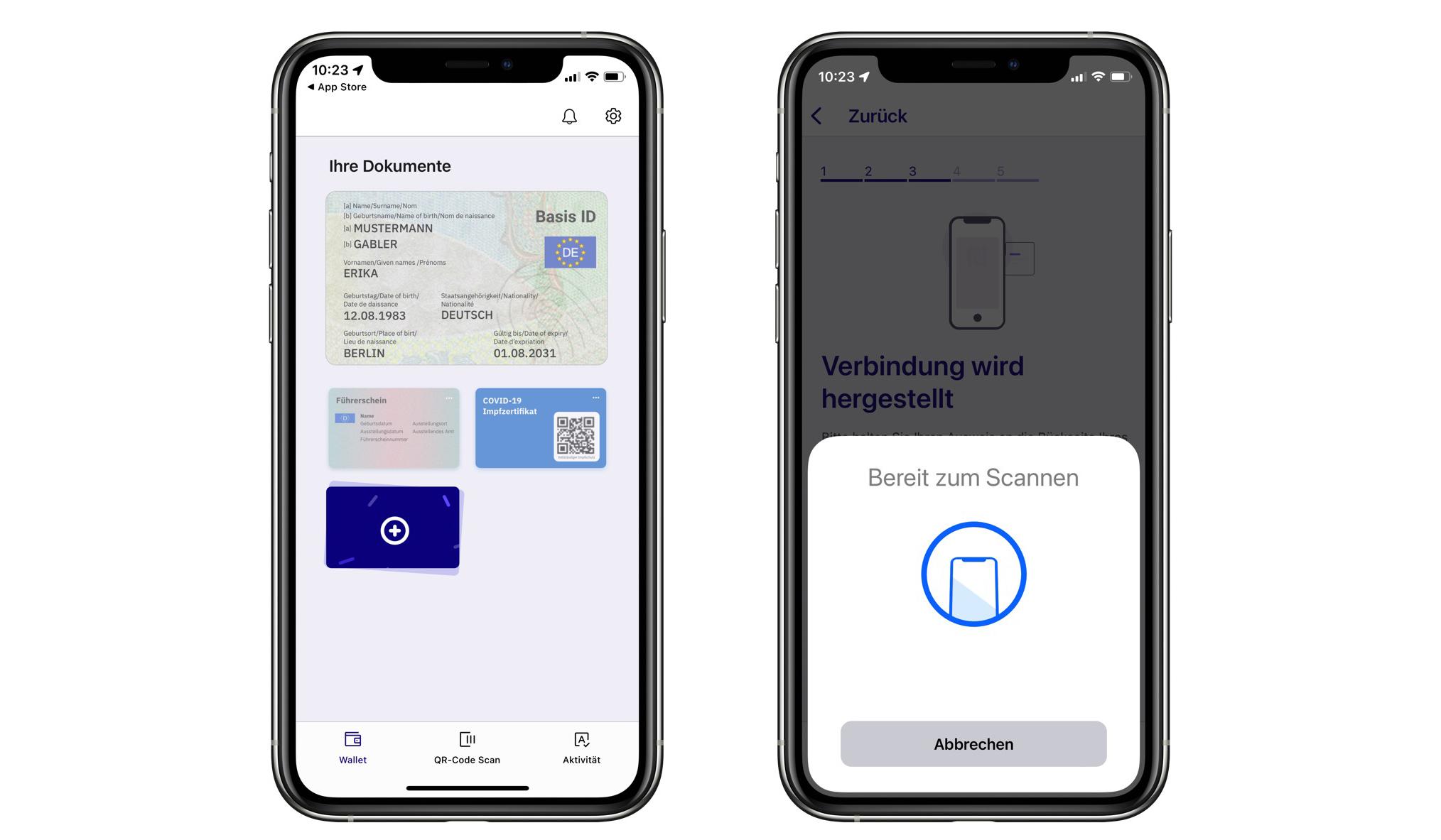 Aplikácia ID Wallet