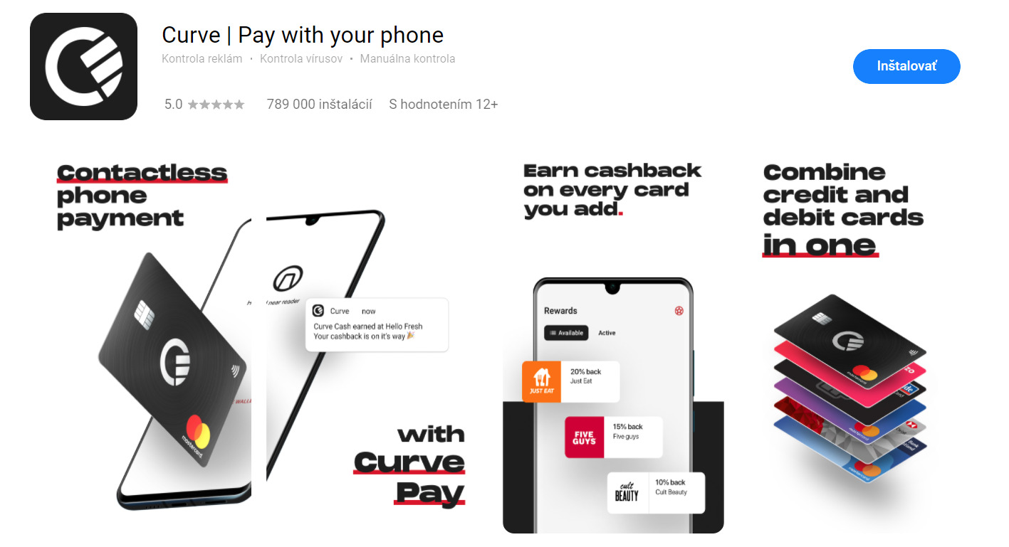 Huawei Curve Pay AppGallery