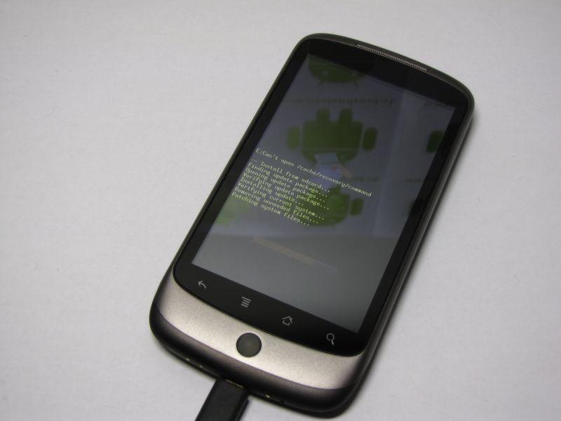Nexus One Froyo update