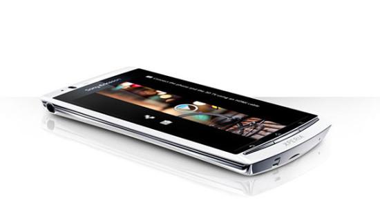 Sony Ericsson Xperia Arc S - Android telefón - 9