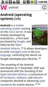 Wapedia - Wikipedia pre Android